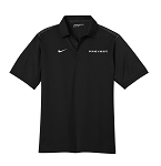 Men's Nike Dri-Fit Sport Swoosh Pique Polo with Prevost embroidered logo.