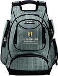 Ogio Metro Pack with UNC Greensboro Bryan School embroidered logo.