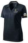 Ladies Sport-Tek® PosiCharge® Micro-Mesh Polo with UNC Greensboro Bryan School embroidered logo and 50th Anniversary
