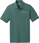 Men's Nike Dri-Fit Vertical Mesh Polo with GenSpring Suntrust Private Wealth embroidered logo.