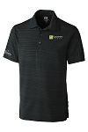 Mens Cutter & Buck DryTec Highland Park Polo with your logo embroidered left chest and ICFA embroidered right sleeve.