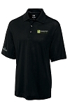 Mens Cutter & Buck DryTec Championship Polo with your logo embroidered left chest and ICFA embroidered right sleeve.