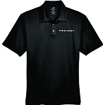 Mens UltraClub Cool & Dry Sport Performance Interlock Polo with Embroidered Prevost logo.