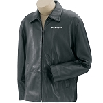 Men's Park Avenue Lambskin Jacket with Embroidered Prevost logo