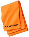 Beach Towel with Prevost embroidered logo.