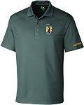 Mens Cutter & Buck DryTec Genre  Polo with UNC Greensboro Minerva embroidered logo.