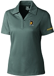 Ladies Cutter & Buck DryTec Genre  Polo with UNC Greensboro Spartan embroidered logo.