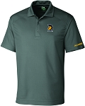 Mens Cutter & Buck DryTec Genre Polo with UNC Greensboro Spartan embroidered logo.