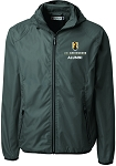 Men's Modify Windbreaker with UNC Greensboro Alumni embroidered logo.