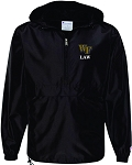 Champion - Packable Quarter-Zip Jacket with Wake Law embroidered left chest