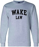 Champion - Double Dry Eco® Crewneck Sweatshirt with Wake Law imprinted full front