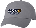 Team Sportsman Unstructured Dad Cap with UNC Alumni embroidered logo
