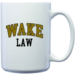 15oz Coffee Mug imprinted with Wake Law