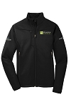 Mens Eddie Bauer Weather-Resist Soft Shell Jacket with your logo embroidered left chest and ICFA embroidered right sleeve