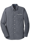 Men's SuperPro Oxford Shirt with Prevost embroidered logo.