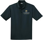 Mens Nike Dri-Fit Micro Pique Polo embroidered with UNC Greensboro School of Education logo.