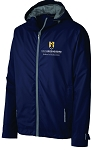 Mens Northwest Slicker embroidered with UNC Greensboro School of Education logo.