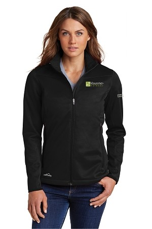 Women's Eddie Bauer Weather-Resist Soft Shell Jacket with your logo embroidered left chest and ICFA embroidered left sleeve