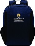 Vector Backpack with UNC Greensboro Bryan School embroidered logo.