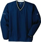 Men's Nike V-Neck Wind Shirt with GenSpring Suntrust Private Wealth embroidered logo.