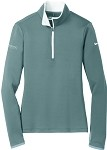 Ladies Nike Dri-Fit Stretch 1/2-Zip Cover Up with GenSpring Suntrust Private Wealth embroidered logo.