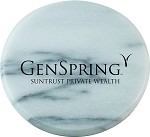 Marble Coaster / Paperweight imprinted with GenSpring Suntrust Private Wealth logo.