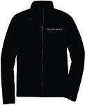 Ladies Port Authority® Microfleece Jacket with Embroidered Prevost logo.
