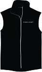 Ladies Port Authority® Microfleece Vest with Embroidered Prevost logo.