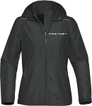 Women's Nautilus Performance Shell Jacket with Embroidered Prevost logo