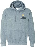 Heavy Blend Hooded Sweatshirt with UNC Greensboro School of Education logo.