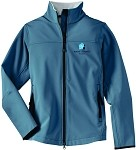 Ladies Glacier Soft Shell Jacket with Embroidered Wade Jurney Homes logo