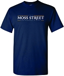 Gildan Hammer Short Sleeve T-shirt with Moss Street imprinted logo.