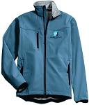 Men's Glacier Soft Shell Jacket with Embroidered Wade Jurney Homes logo