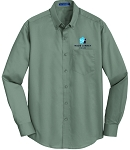 Men's SuperPro Dress Twill Shirt with Embroidered WJ logo